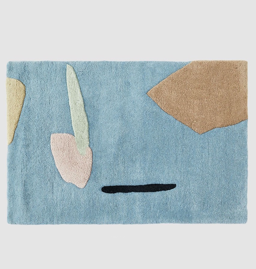 COLD PICNIC / 2 X 3 COAST TO COAST RUG $135  - available at Need Supply