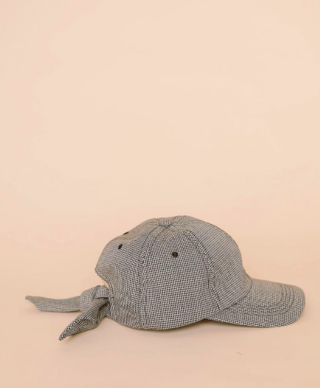 Clyde tie baseball cap via The Drive New York