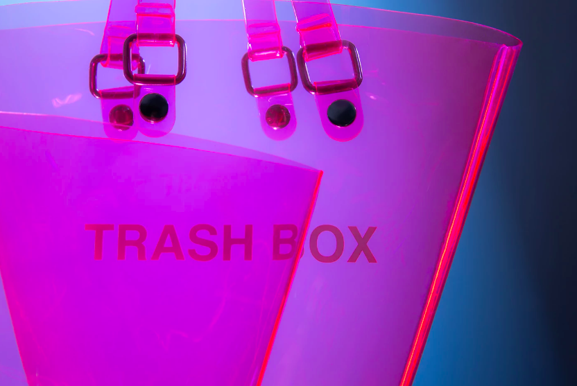 Not A Trash Box tote by Tokyo brand Nana-nana // DNAMAG