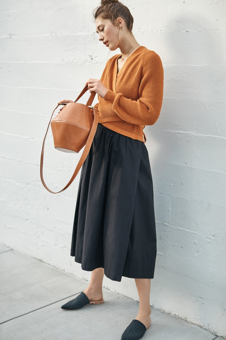 Kowtow wide legged culottes by Amour Vert