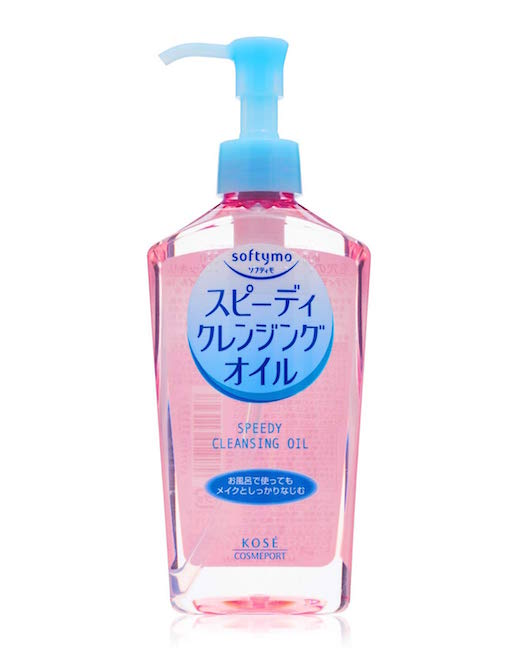 KOSE SOFTYMO / SPEEDY CLEANSING OIL $9.89 - This cleansing oil seriously removes all traces of dirt and makeup - so much that I'm always tempted to end my routine there.