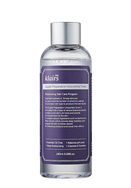 KLAIRS / SUPPLE PREPARATION UNSCENTED TONER $18.90 - I've only heard very good things about this Korean brand toner, the best being that it's not harsh and makes your skin feel light.