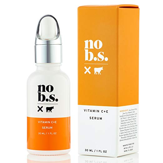 """NO B.S. / VITAMIN C + E SERUM $38 - The B.S. stands for """"bad stuff', which it certainly lacks of. This bestseller is free of all toxic ingredients, but all the good stuff your skin needs is all there. Worth the price."""