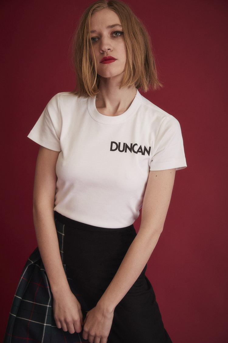 Duncan cotton t-shirt  //  DNAMAG