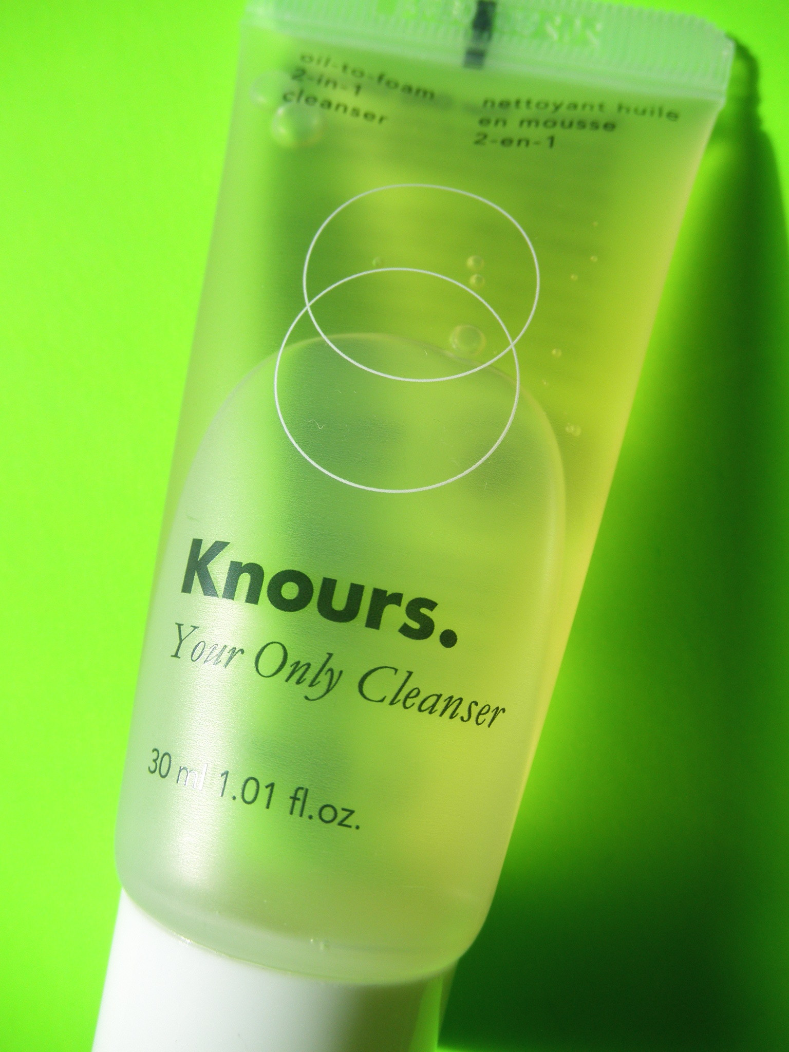 KNOURS. - YOUR ONLY CLEANSER -