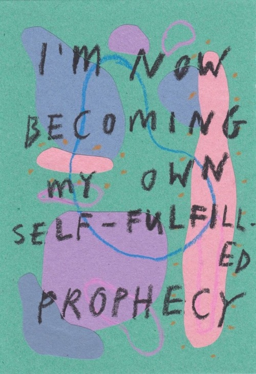 self prophecy
