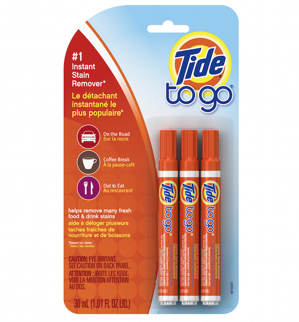 TIDE TO GO / INSTANT STAIN REMOVER PENS $12.75 -