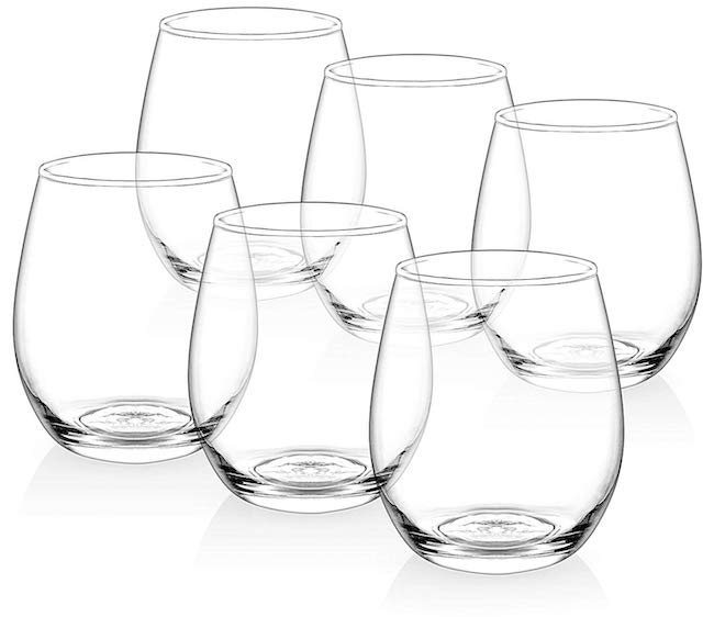 ZUZORO / STEMLESS WINE GLASSES $14.95 -
