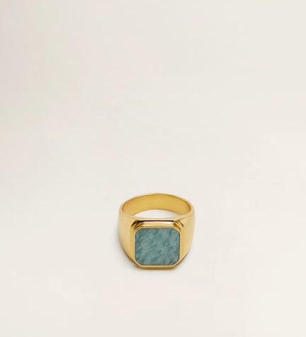 MANGO / STONE SEAL RING $39.99 -