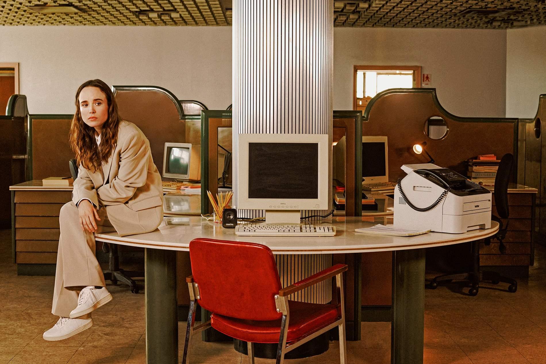 Ellen Page in Porter Magazine