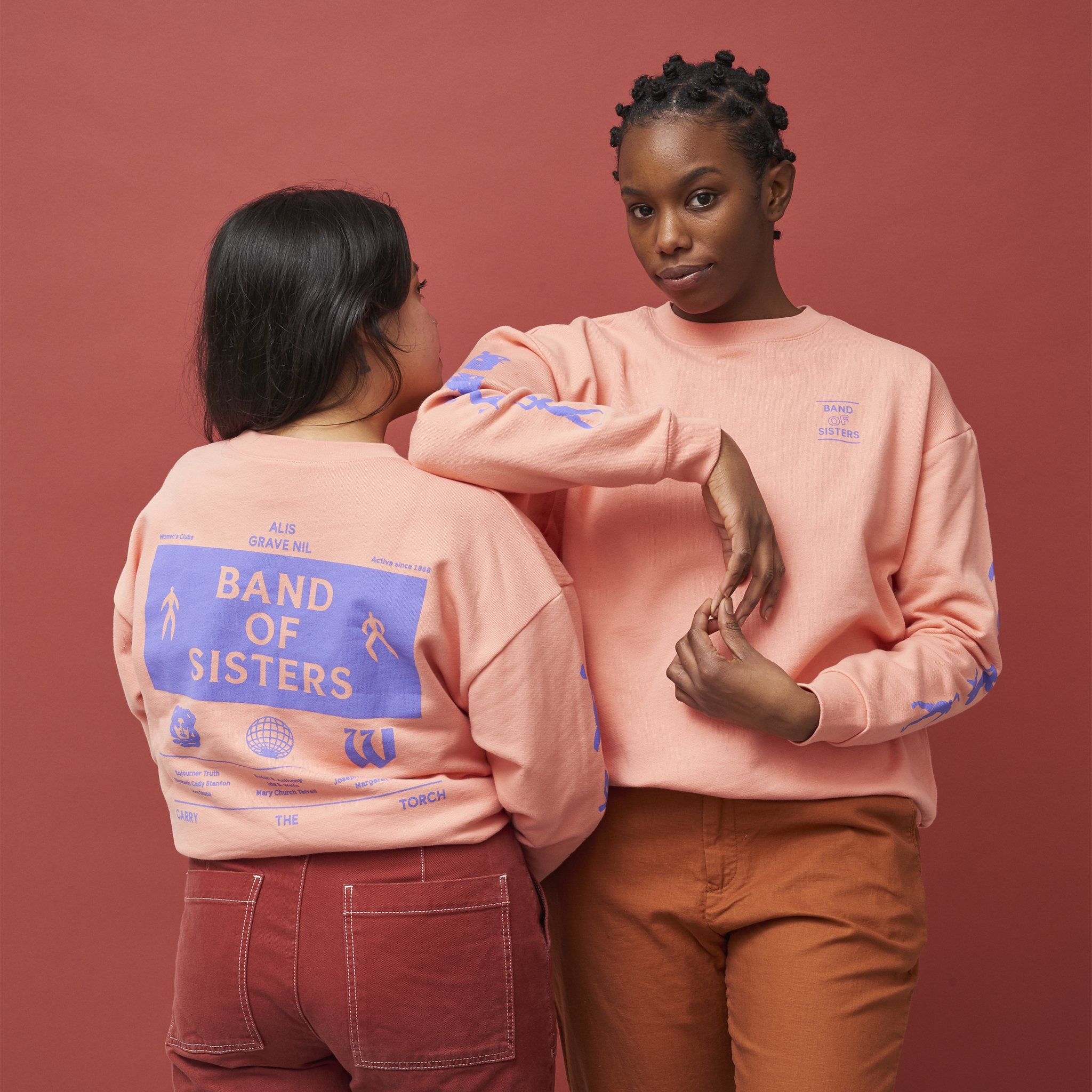 Band of Sisters sweatshirt by The Wing