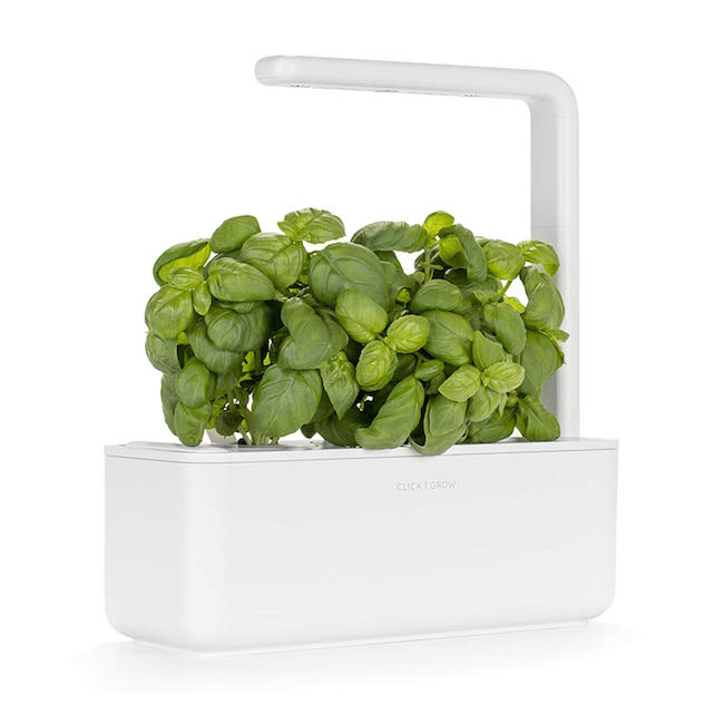 CLICK AND GROW / SMART GARDEN 3 INDOOR GARDENING KITS $99.95 - available at Amazon