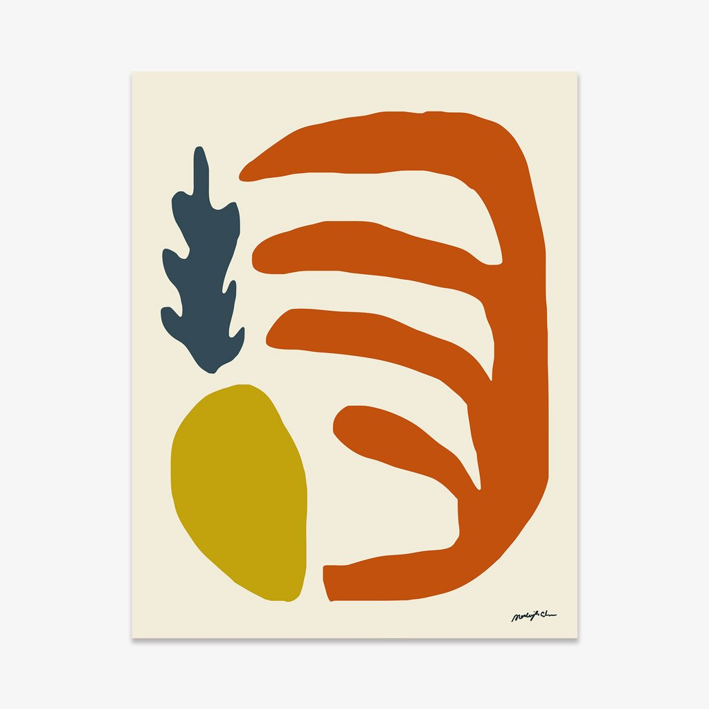 TAPPAN COLLECTIVE / MARLEIGH CULVER 'NUMBER 14 PRINT' $140 -