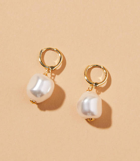 SHASHI / BELLA BALL DROP EARRINGS $48 - available at Lou & Grey