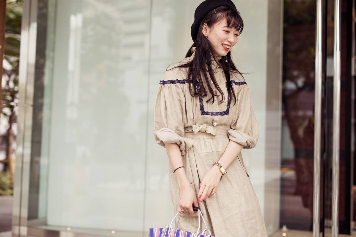 Tokyo Fashion Week ss19 - photo credit: Matthew Sperzel