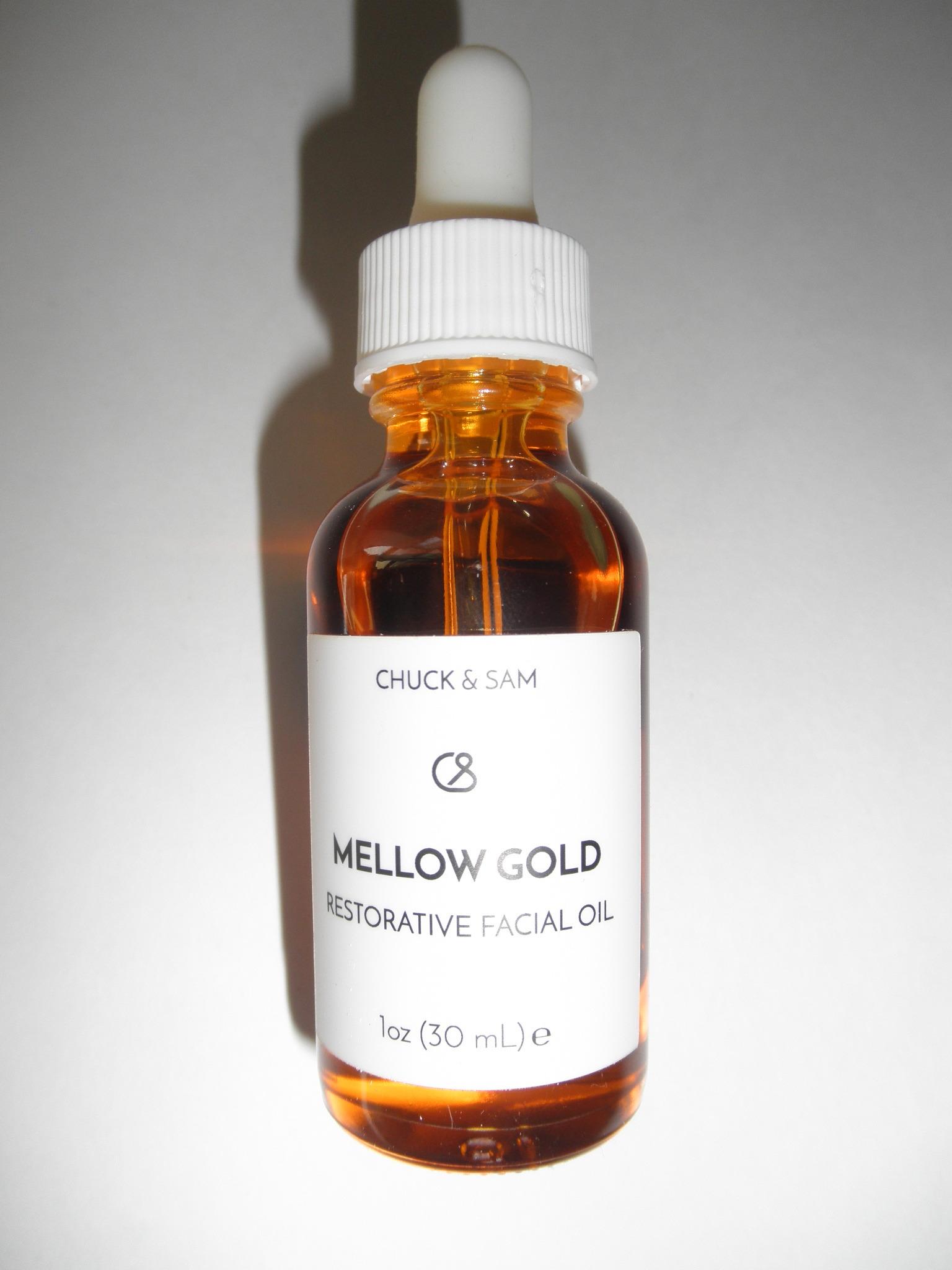 Chuck & Sam - Mellow Gold Restorative Facial Oil -