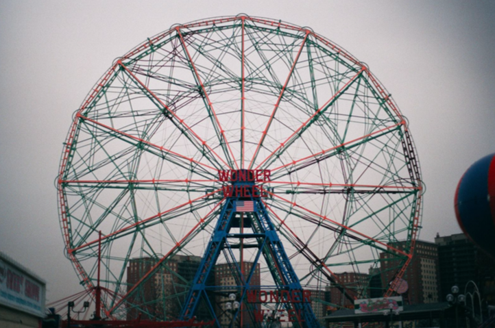 Coney Island, photo by Elena Chen