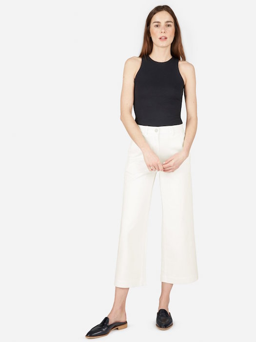 THE WIDE LEG CROP PANT $68 -
