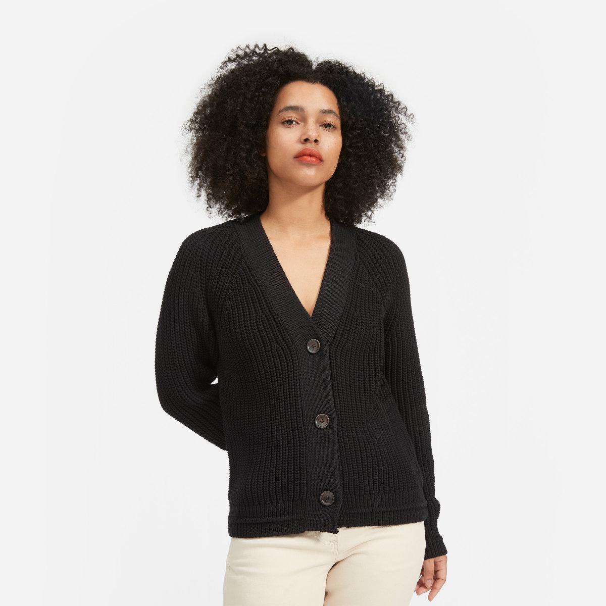 THE TEXTURE COTTON CARDIGAN $98 -