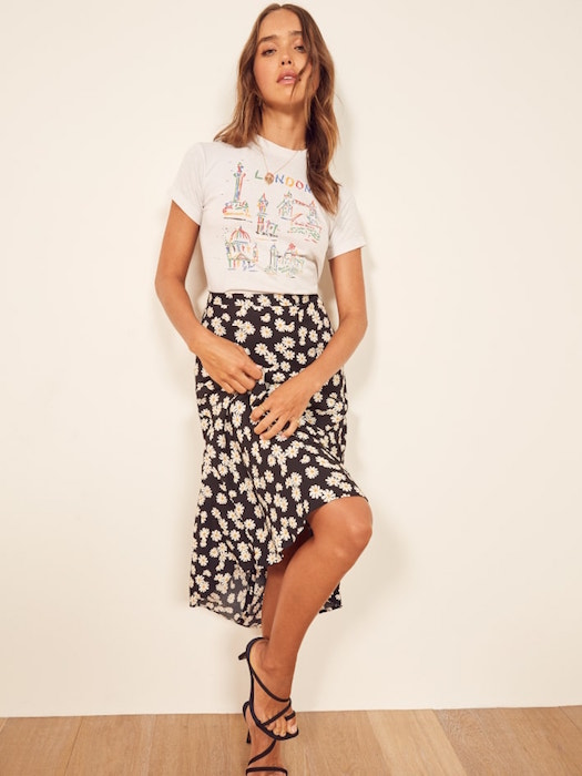 REFORMATION / BEA SKIRT $148 -