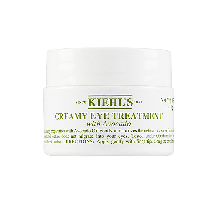 KIEHL'S / CREAMY EYE TREATMENT WITH AVOCADO $30 - available at UltraBest eye cream I have ever used! Very refreshing and keeps the under eye area moisturized and revitalized.