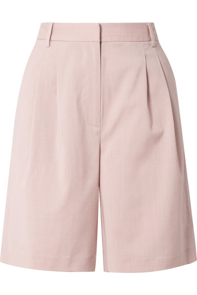 TIBI / WOOL BLEND SHORTS $237 - available at Net-a-Porter