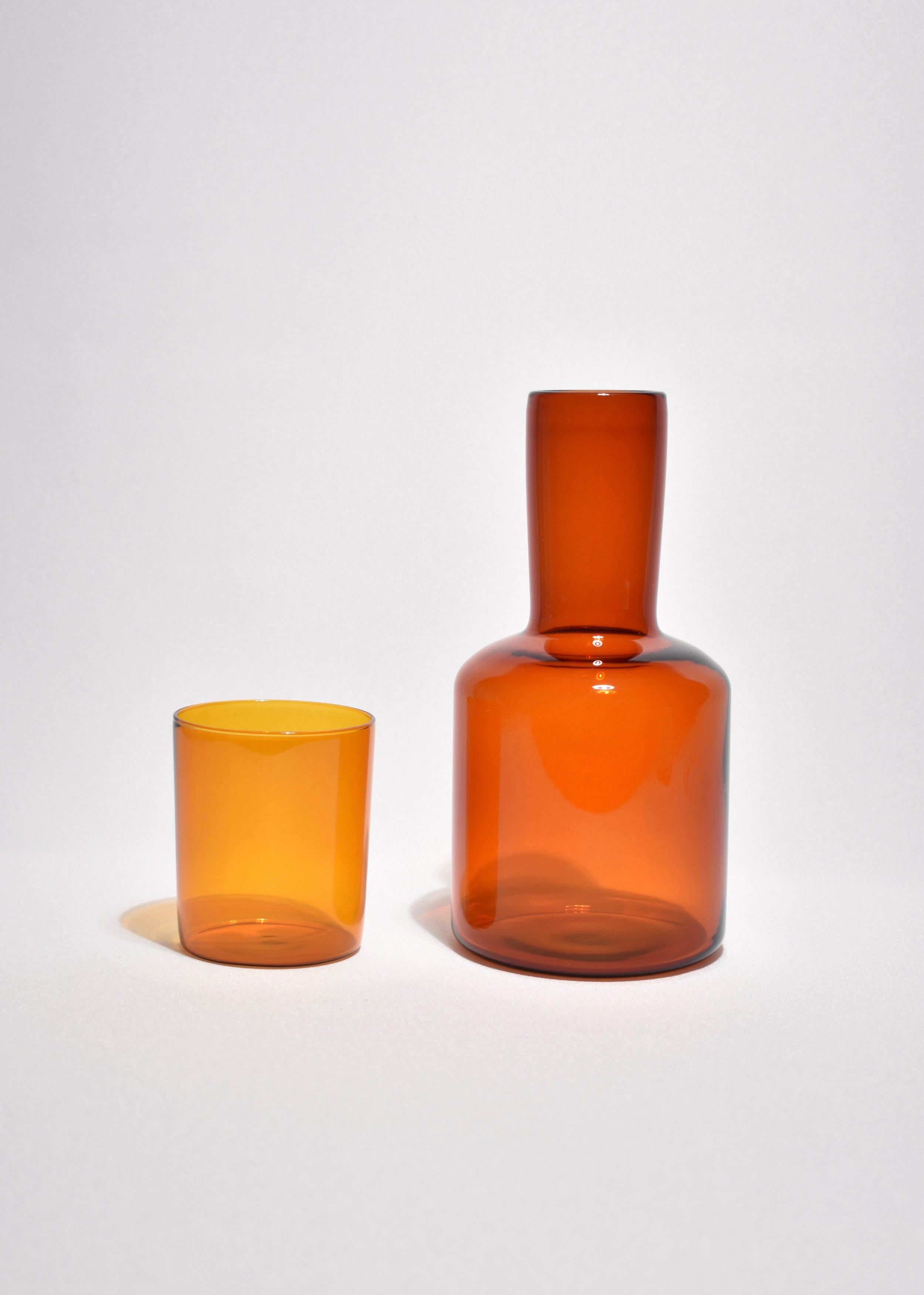 Casa Shop; Amber bedside carafe