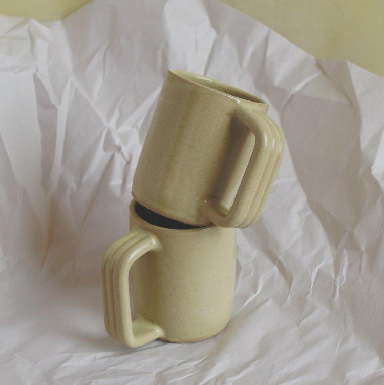 Cordage Mug in chartreuse by Summer School
