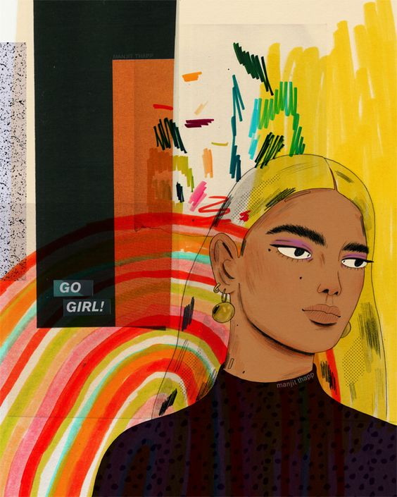Girl to Know: Illustrator Manjit Thapp