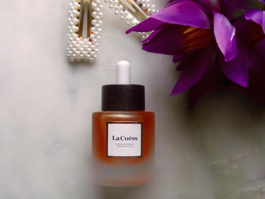 Review of La Coess REVITALISÉ Nutrient Organic Face Oil