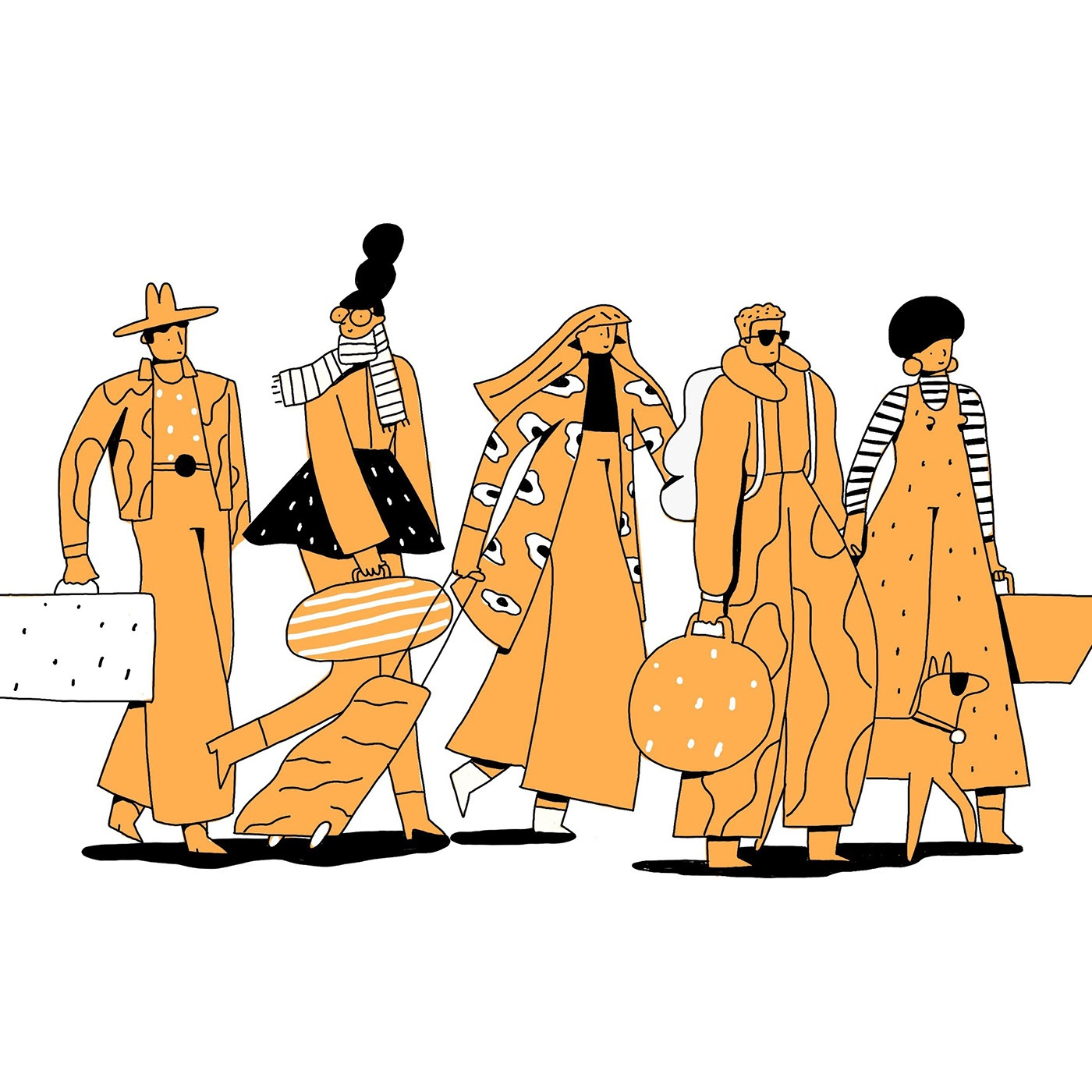 illustration by  Amelia Giller