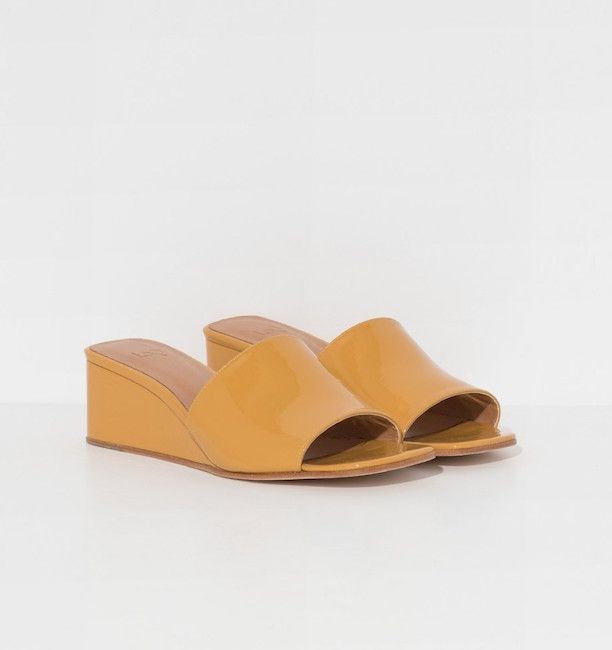 LOQ / YELLOW SOLE SANDALS - WAS $350, NOW $210