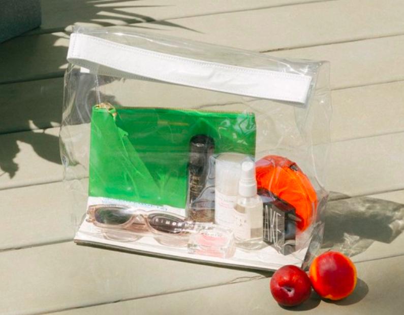 Simon Miller vinyl lunchbag via Need Supply