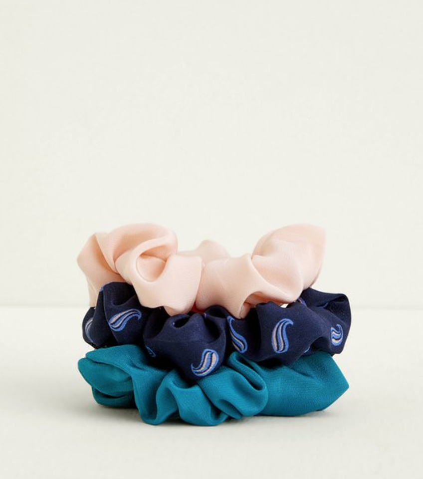 PALISADES SCRUNCHIES SET OF 3 $32  -