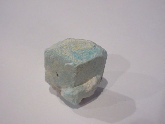 AMAZONITE - Amazonite can assist in communicating one's true thoughts and feelings without becoming entangled and overwhelmed by emotion. This stone helps you see both sides of an issue which can include inner conflict.