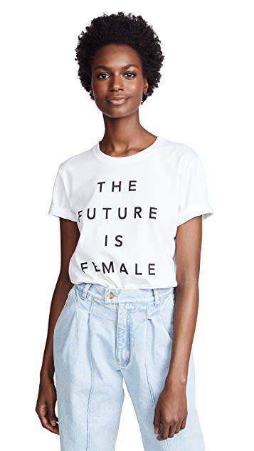 PRINCE PETER / FUTURE IS FEMALE TEE $55 -