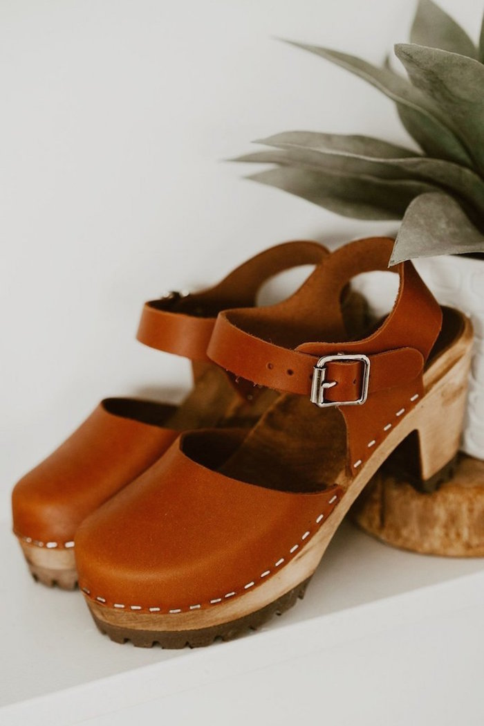 ECOVIBE / MIA SWEDISH CLOG $99 - A variety of fabircs and textiles go into producing ethically made clothing and shoes. At EcoVibe, a sustainable brand that focuses on exceptionally produced clothing and footwear, they use numerous materials such as tencel, modal, bamboo, cotton, linen, and much more. They also realize that the fashion industry has become the third most polluting industry in the world, and they strive to offset the comparitively minor impact that their company makes.