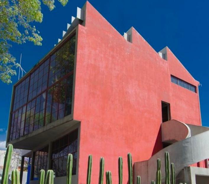 Luis Barragan, House- Studio Museum of Diego Rivera and Frida Kahlo