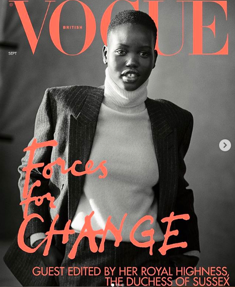 ADUT AKECH - Adut is a 19 year old international model, who was born in a refugee camp in South Sudan amid restless conflict, and grew up in Kenya's Kakuma refugee camp with her mother and five siblings. In recent years she has become one of the world's most notable young models, walking for Dior, Burberry, and Prada. In July 2018, she became the second black model to close the Chanel haute couture show. Aside from her flourishing modelling career, Adut inspires other women to lead change and advocate for diversity in the fashion industry. She also hopes to give back to her home of South Sudan.