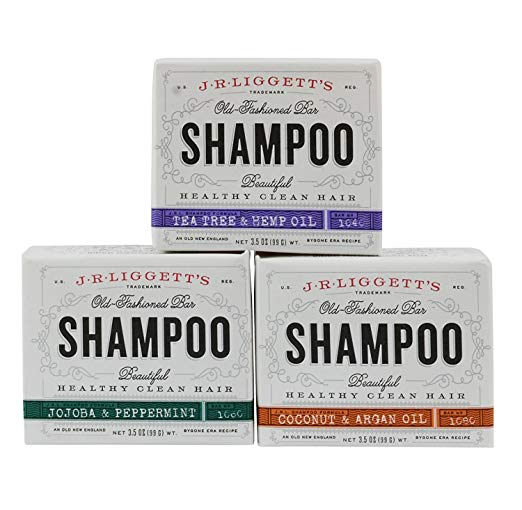 - SHAMPOO, CONDITIONER, SOAP BARSAlmost all of our beauty products come in plastic packaging. While many brands are working to create more sustainable packaging, why not ditch packaging altogether? Shampoo, conditioner, and soap bars make for a simple shower routine and are easy to travel with.J.R. Liggett's Old Fashioned Shampoo Bars - 3 pack $13.91