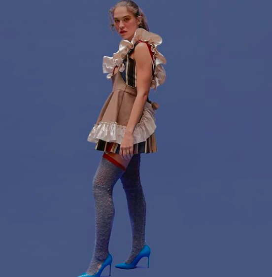 """LOU DALLAS - Designed by Raffaella Hanley, Lou Dallas is described as """"dreamy"""", """"otherworldly"""", and """"punkish"""". She has been named a CFDA/Vogue Fashion Fund finalist and most of her work is made of recycled fabrics."""