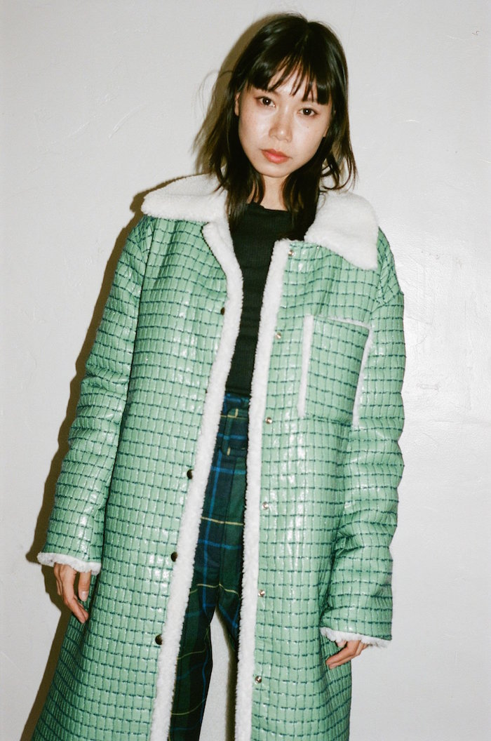 Suzanne Rae long chore coat via Nonna