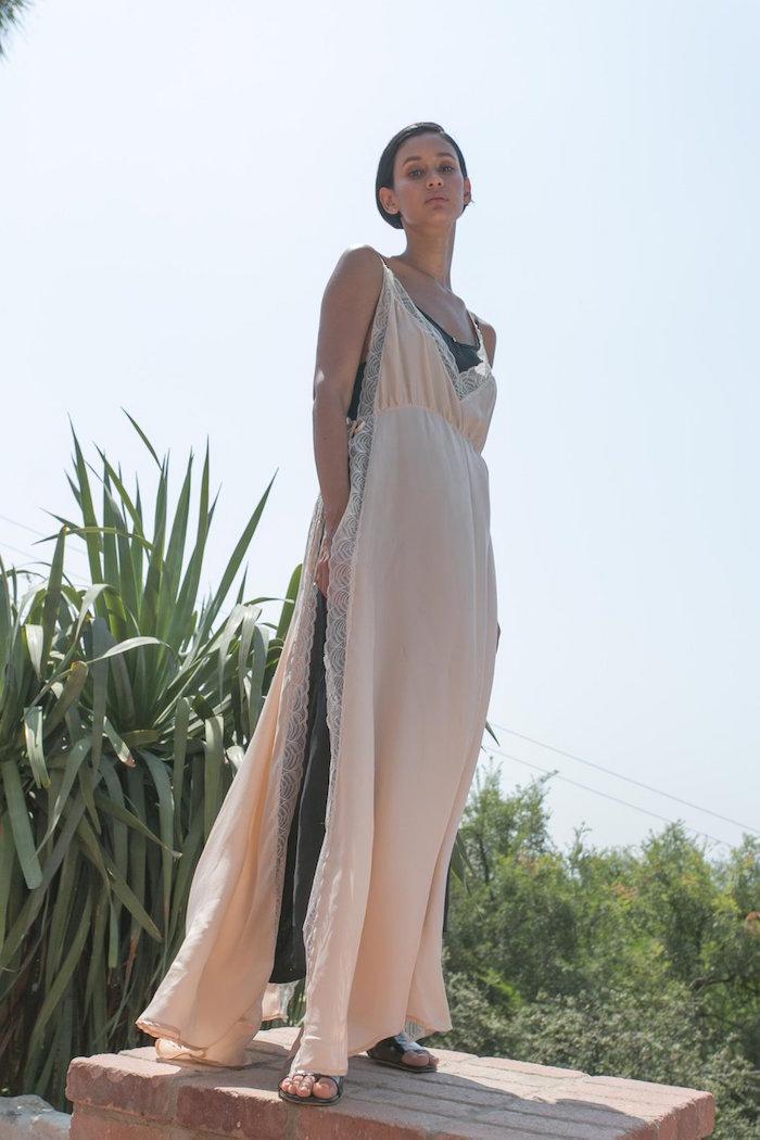 Botanica Workshop - Vania Dress in cupro vegan silk