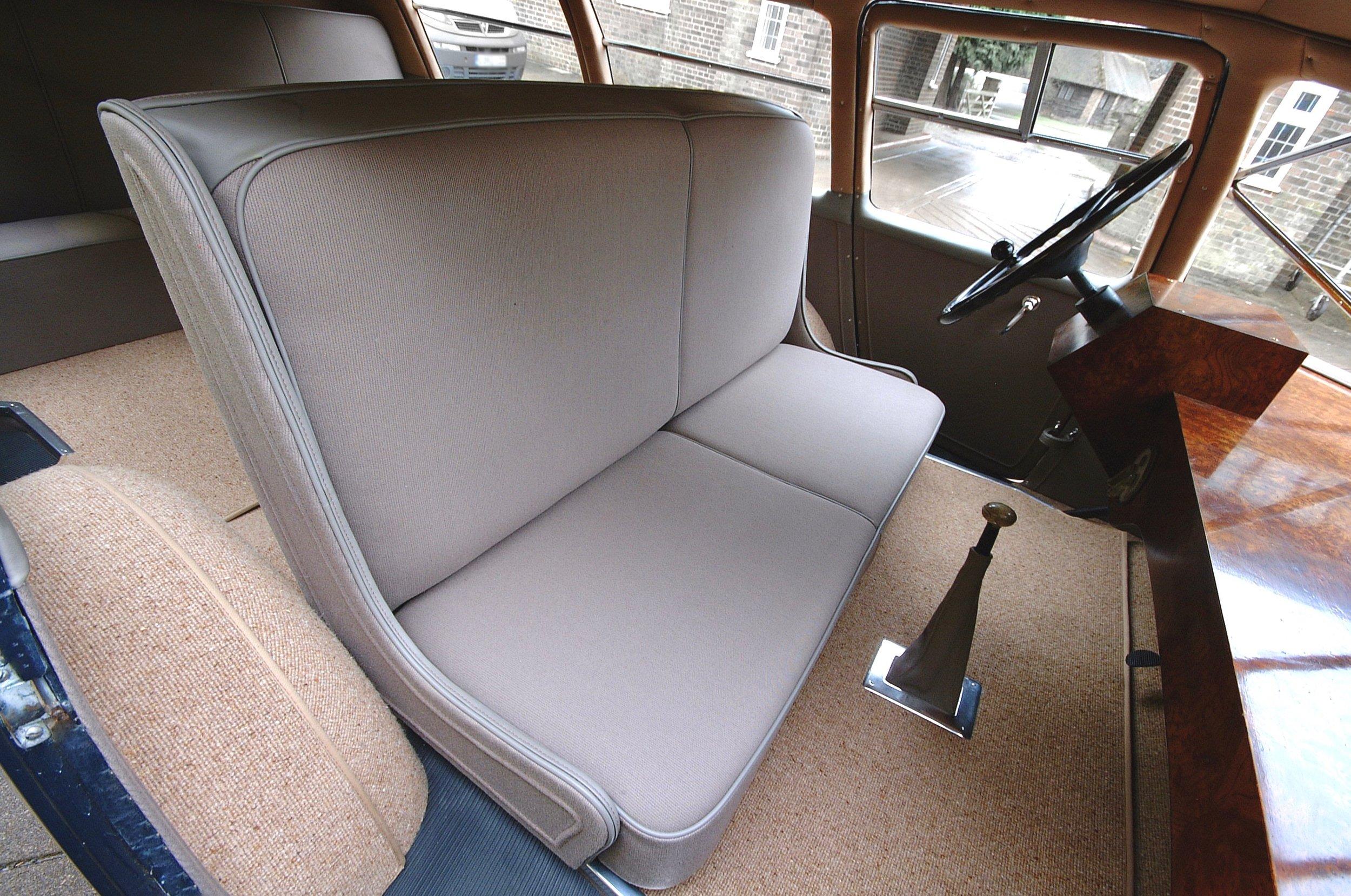 Car 2's new interior