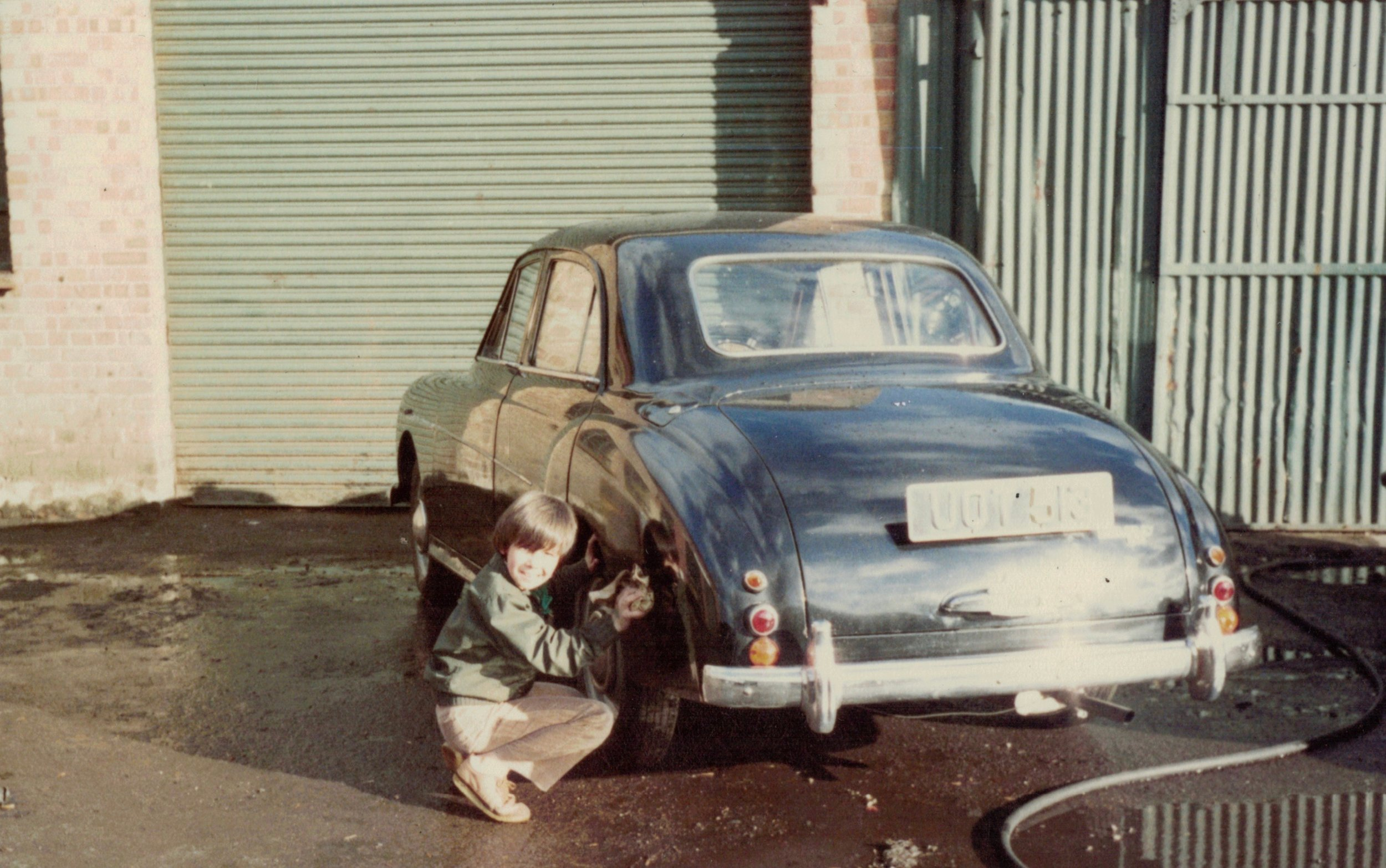 Rorky inventing detailing in 1978.