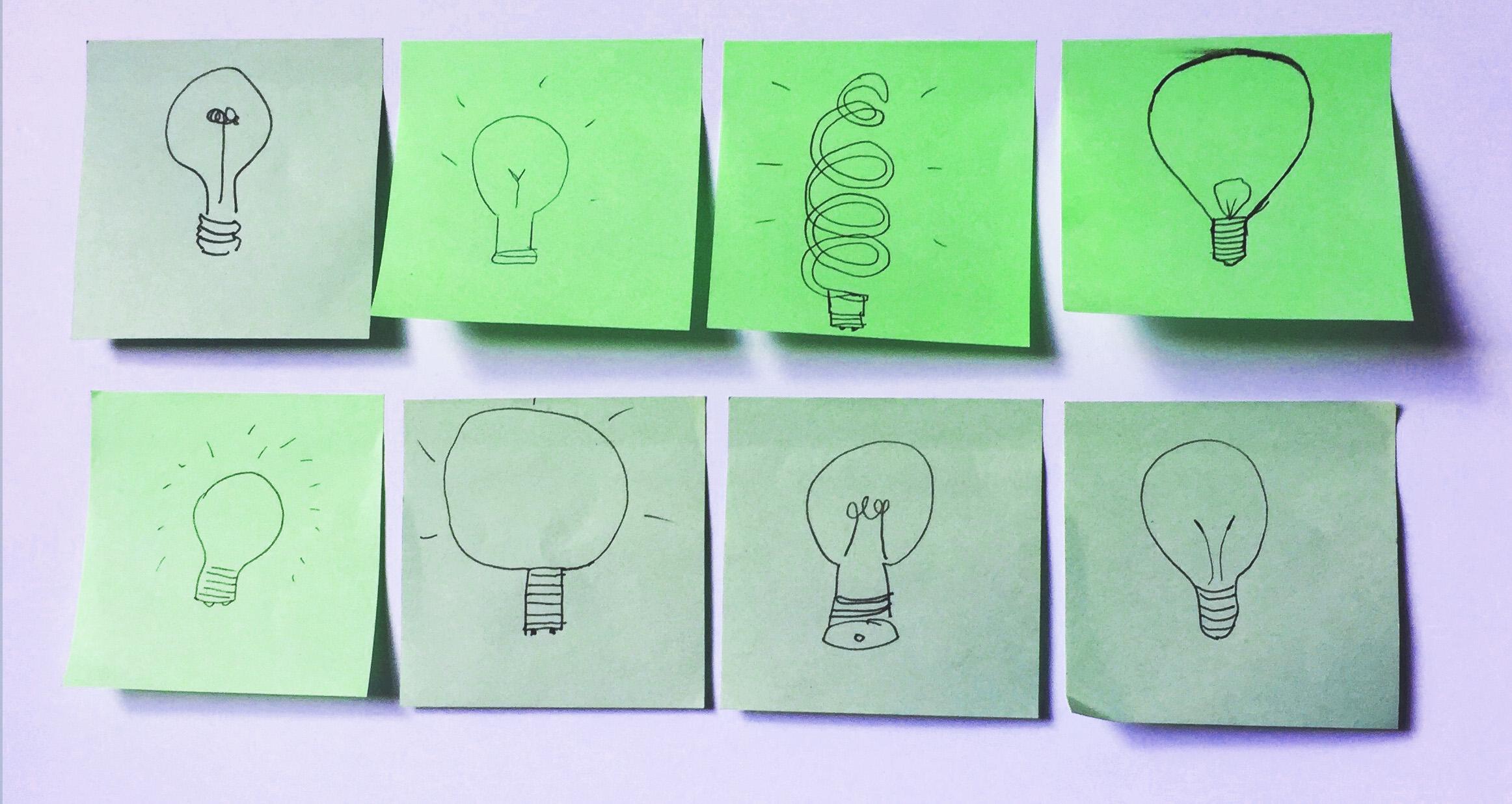 lightbulbs graphic change ltd