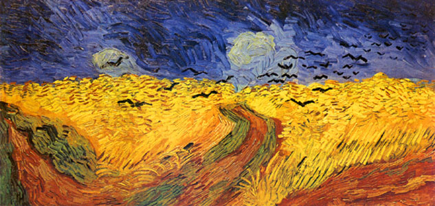 Van Goch - Wheatfield with Crows