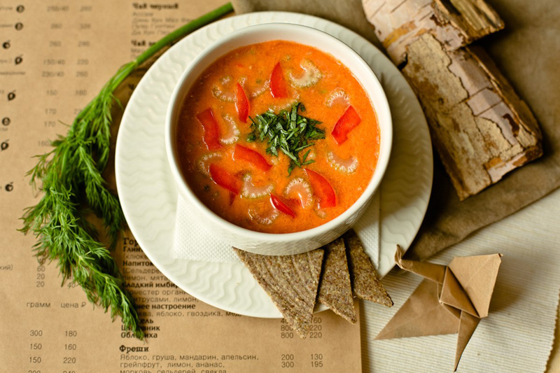 Toscanian soup raw by  УКРОП