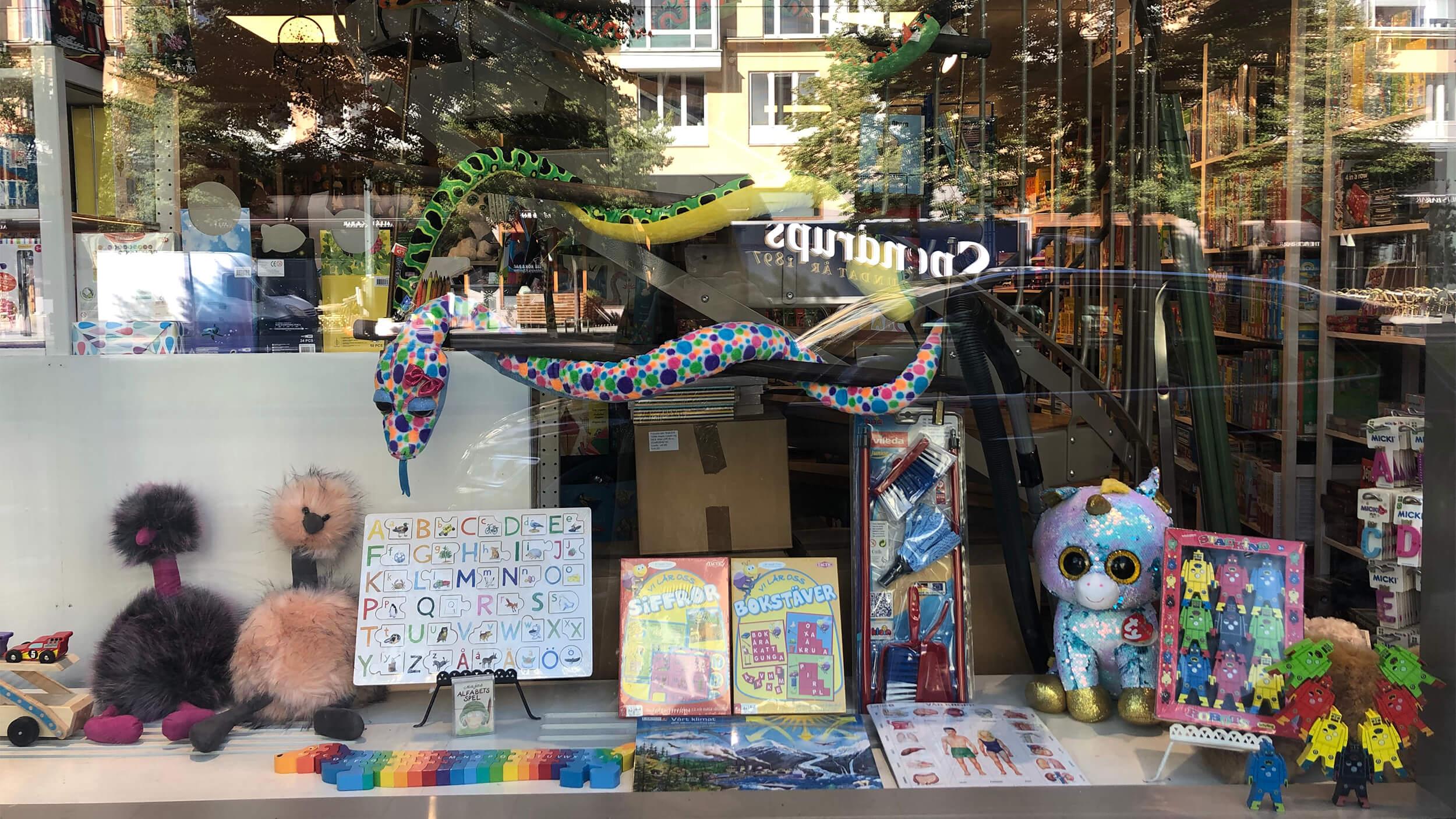 Välkommen till våra butiker i Sjöstaden och Orminge!