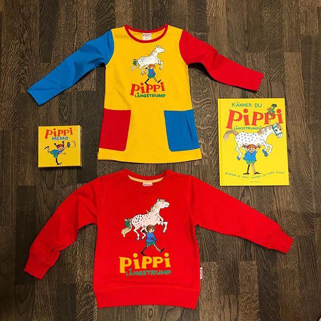 Nytt in 💛 Pippi Långstrump tunika & collegetröja #leksaker #hammarbysjöstad #nacka #pippilångstrump